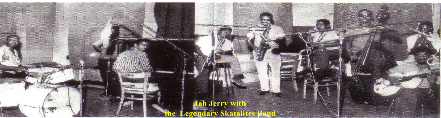 Jah Jerry with the legendary Skatalites band