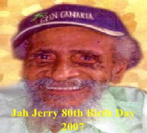 Jah Jerry Obiturary Picture