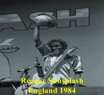 Jah jerry on Regge Sunsplash England 1984
